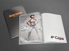 Anúncio em Revista - Moda Moldes