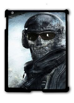 Call Of Duty Ghost Mask iPad case, Available for iPad 2, iPad 3, iPad 4 , iPad mini and iPad Air