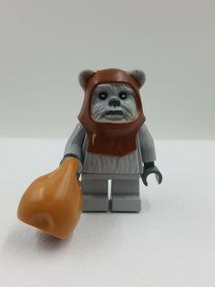 Ewok Logray LEGO Star Wars Figur Minifig Han Leia Endor Chirpa 7956 10236