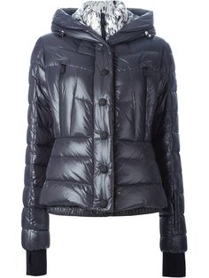 Shop Moncler Grenoble hooded padded jacket     in Parisi from the world's best independent boutiques at farfetch.com. Shop 300 boutiques at one address.