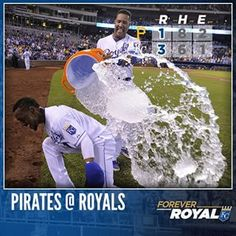 Jarrod Dyson delivers in the clutch to back the bullpen's strong performance vs. the Pirates. #ForeverRoyal | royals.com