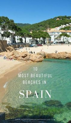 10 most beautiful beaches in Spain. Spain has one of the longest coastlines in Europe (over of Mediterranean shoreline alone) plus one of the best climates on the continent. Spain Travel Guide, Europe Travel Tips, European Travel, Overseas Travel, Budget Travel, Travel Ideas, Cool Places To Visit, Places To Travel, Places To Go