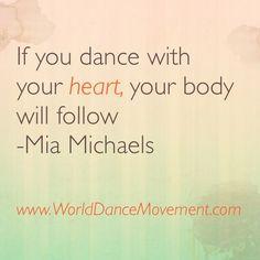 Dançar com coração