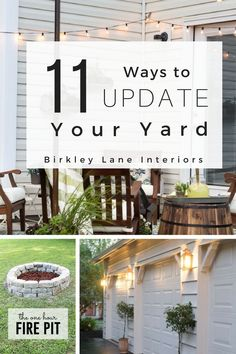 Looking for outdoor decorating ideas on a budget?? Then stop here for some amazing outside decor inspiration and stylishly decorate your front porch, patio and backyard! #birkleylaneinteriors #outsidedecor #decorating #diy #outdoordecor #frontporchdecor #patio #frontporch #backyard