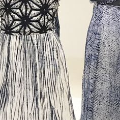 Shibori #stadtmuseumsimeonstift #trier#shibori#wirsindlockvögel#fashionfromjapan