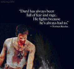 Norman Reedus on Daryl Dixon