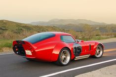 Shelby Daytona.  Another classic Kamm tail.