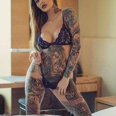 @dear_emilyx #womenwithink #womenwithtattoos #thightattoo #legtattoo #sleeve #sleevetattoo #art #chestpiece #chesttattoo #blackwork #stomachtattoo #girlswithink #girlswithtattoos #ink #inked #inkedgirls #inkedwomen #tattoo #tattoos #tattooed...