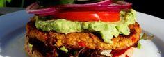 burger di tofu con salsa all'avocado 2