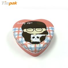 Heart shaped candy tin cans are made up of 3 pieces. The most noteworthy feature of this candy tin in that it has a very lovely and attractive appearance.  More information at http://www.tinpak.us/Products/Lovelyheartshapedcandytin.html