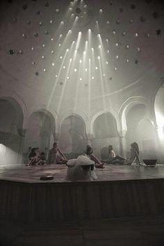 Turkish women in bath