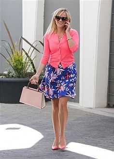 Reese Witherspoon is seen on April 12, 2017 in Los Angeles, California.