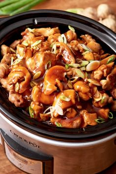 This slow cooker honey Teriyaki chicken is the easy chicken dinner you need to make this weeknight. We love a takeout alternative, especially one as tasty and easy to make as this one. Honey Teriyaki Chicken, Skinless Chicken Thighs, Sweet And Salty, Kung Pao Chicken, Sweet Recipes, Slow Cooker, Lovers, Dinner Recipes, Beans