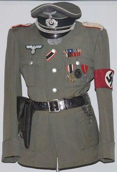 Image result for nazi grey uniform