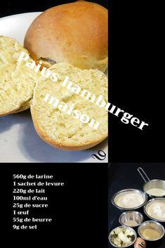 Voici la recette des pains hamburger maison, tendres et moelleux, à garnir ou à déguster au petit déjeuner avec une bonne confiture. Si vous aimez, suivez-moi sur mon blog, je vous dis tout! Naan, New York Style Cheesecake, Strawberry Topping, Vegetable Stew, Chicken Tikka Masala, Eat Smarter, Blue Berry Muffins, Voici, Food And Drink