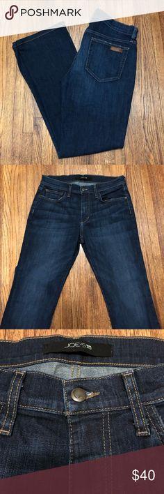 NEW Joe/'s Jeans Straight Narrow Brixton Blue Shipman Cotton Linen Loose fit