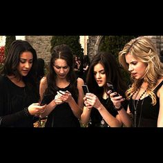 Who else can remember that very first text?  Type it in the comments below! #HappyBirthdayPLL #PLL