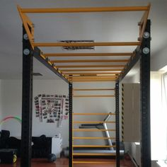 monkey bars with wall bars Funcional training frame Wall Bar, Monkey, Loft, Building, Frame, Home Decor, Picture Frame, Jumpsuit, Decoration Home