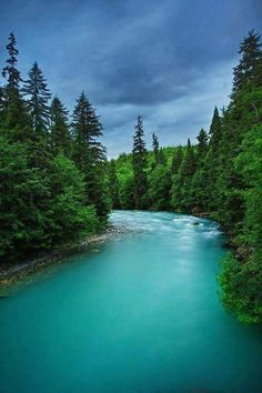 Places With Stunning Nature Where You Can Relax Beautiful turquoise waters of the Wedeene River near Kitimat in British Columbia, Canada Places Around The World, The Places Youll Go, Places To See, Around The Worlds, British Columbia, Beautiful World, Beautiful Places, Beautiful Sites, Photos Voyages