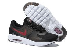 Buy 2015 Latest Nike Air Max Zero QS 87 Retro Mens Running Shoes Black Red  For Cheap Super Deals from Reliable 2015 Latest Nike Air Max Zero QS 87  Retro ... 4f244dd2c1e8