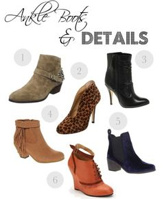 Ankle boots: How to wear them