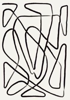 line art Geometric Wall Art, Black and White - art Black And White Prints, White Art, Geometric Wall Art, Geometric Lines, Geometric Patterns, Autumn Illustration, Minimalist Wallpaper, Abstract Line Art, Movie Poster Art