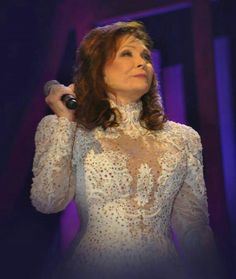 Loretta Lynn on the Grand Ole Opry