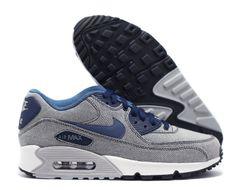 Nike Air Max 90 'Denim' (Grey & Blue) - EU Kicks: Sneaker Magazine