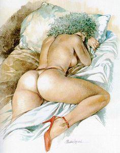 Paolo Eleuteri Serpieri - Galerie BD Erotique