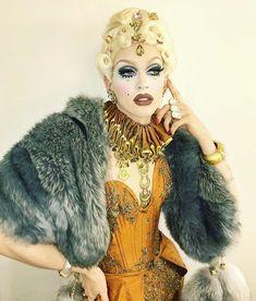 image Drag Queen Makeup, Drag Makeup, Judy Garland, Queen Fashion, Fashion Art, Pearl Liason, Pearl Drag, Drag Queen Outfits, Drag Queen Costumes