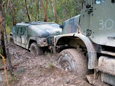 mud on army truck