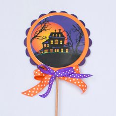 Hand-crafted Halloween Haunted House Party Decoration