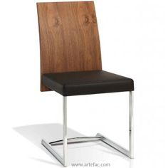 LOW- Modern Stools/Chairs :: KR-3167 Wooden Back Chair - ARTeFAC Canada