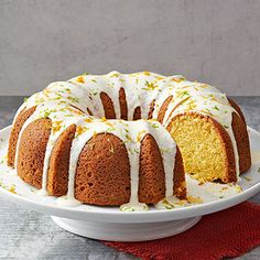 Triple-Citrus Pound Cake From Better Homes and Gardens, ideas and improvement projects for your home and garden plus recipes and entertaining ideas.