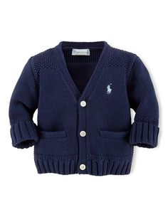 Baby Boys Button-Down Sweater
