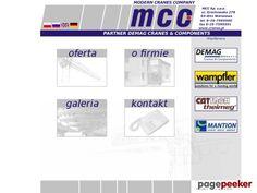 Modern Cranes Company Sp. z o.o. kabiny sterownicze do suwnic