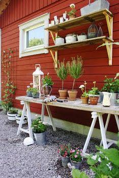 Mitt kommande planteringsbord
