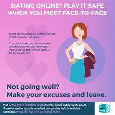 Internet dating safety advice for women