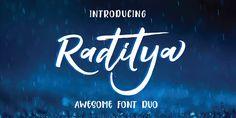 Check out the Raditya font at Fontspring.