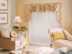 Hunter Douglas Cadence® Soft Vertical Blinds with PermaTilt® Wand Control system