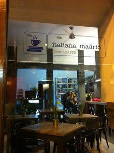 Italiana Madrid librería café - Corredera Baja de San Pablo, 10