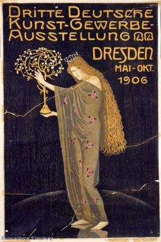 Dritte Deutsche Kunst-Gewerbe Ausstellung Dresden 1906 by Otto Gussmann