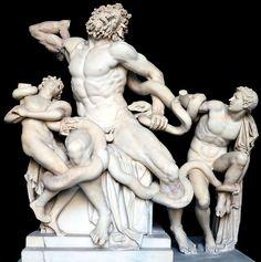 Laokoon-Gruppe in den Vatikanischen Museen