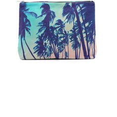 Samudra South Kona Pouch ($70) ❤ liked on Polyvore featuring bags, handbags, clutches, south kona, white clutches, pouch purse, zip pouch, canvas pouch and canvas handbags