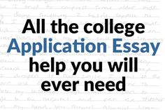 essay examples for high school admission