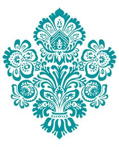 Damask Wall Decal 3