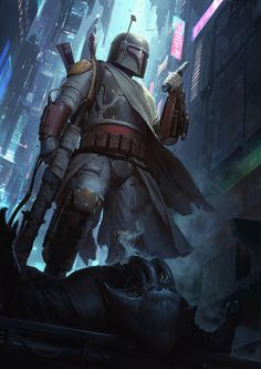 """Star Wars: Boba Fett - Sideshow Collectibles Mythos Art Print - by Darren Tan """"I'm really excited to finally show this off. My first official Star Wars fine art print by Sideshow Collectibles. Star Wars Characters Pictures, Star Wars Pictures, Star Wars Images, Boba Fett Art, Star Wars Boba Fett, Jango Fett, Star Wars Saga, Star Trek, Star Wars Painting"""