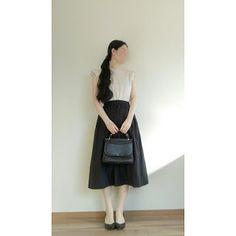 【型紙・作り方】簡単!ギャザースカート