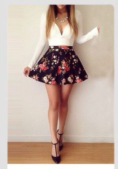 This is really pretty! I love that skirt so much!!
