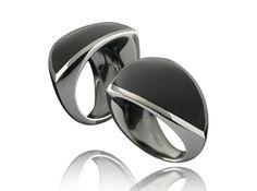 William Cheshire | Libertine Black Rhodium Plated Silver Ring